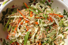Asian Coleslaw with Citrus and Almonds
