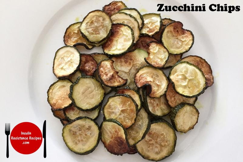 Zucchini Chips - Insulin Resistance Diet Recipes