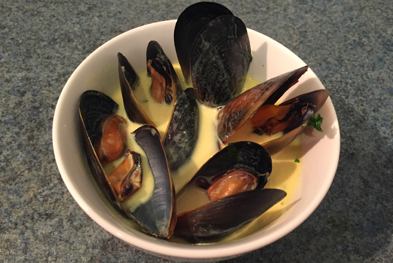 Steamed Mussels in Coconut Milk - Insulin Resistance Diet Recipes