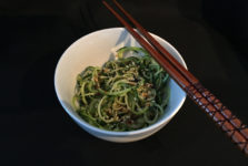 Soy Zucchini Noodles