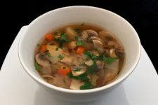 Low Carb Chicken, Mushroom and Porcini Soup